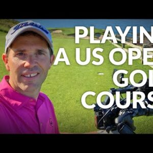 PLAYING ON A US OPEN GOLF COURSE - Pebble Beach, Bethpage Black & Pinehurst No.2 with Dan Hendriksen