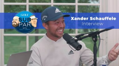 Xander Schauffele Interview: The first time he saw his swing, money games with Phil Mickelson