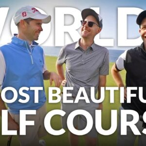 WORLD'S MOST BEAUTIFUL GOLF COURSES: Golf at Seve's Buenavista in Tenerife with Mark Crossfield & Co