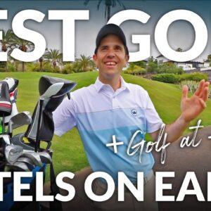 BEST GOLF COURSE IN TENERIFE?? Abama Golf + World's Best Golf Resorts with Mark Crossfield & Co