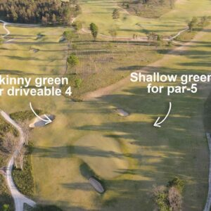 Playing Forest Dunes and its reversible golf course, The Loop