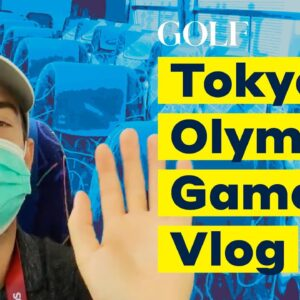 A Day In The Life Covering The Tokyo Olympic Games | Golf.com Writer Vlog