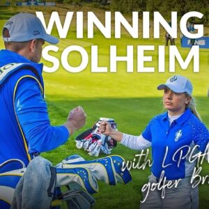 WINNING THE SOLHEIM CUP: Sophie Walker talks #ScotlandGolfMoments with BRONTE LAW