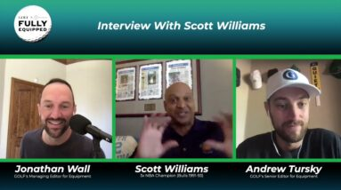 Scott Williams Interview: His 3-peat with the Bulls, MJ gifting him custom clubs, The Last Dance