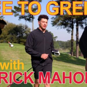 Patrick Mahomes is crazy about golf | TEE TO GREEN